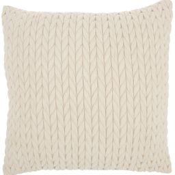 "Nourison Life Styles Ivory Decorative Throw Pillow, 18"" X 18"" | Walmart (US)"