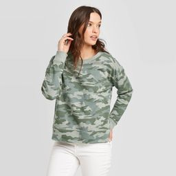 Women's Camo Print Sweatshirt - Universal Thread™ | Target