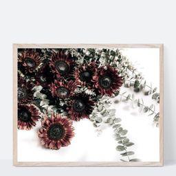 October Sunflowers (Digital File, Landscape) Floral Photography Print   Etsy (US)