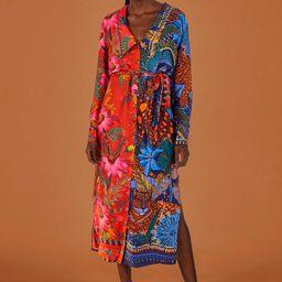 mixed prints chemise | FarmRio