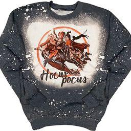 Sanderson Witch Museum Sweatshirt For Women Happy Halloween Pullover Shirts Teen Girls Funny Witc... | Amazon (US)