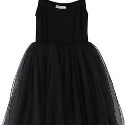 LYXIOF Baby Girls Toddler Tutu Dress Long Sleeve/Sleeveless Princess Infant Tulle Sundress | Amazon (US)