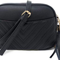 Lola Mae Quilted Crossbody Bag, Trendy Design Shoulder Purse   Amazon (US)