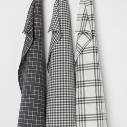 3-pack Cotton Tea Towels | H&M (US)