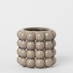 Small Plant Pot with Bubbles | H&M (US)