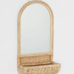 Rattan Basket Mirror | H&M (US)