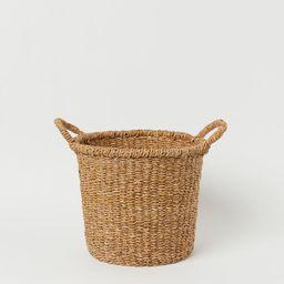 Seagrass Storage Basket | H&M (US)