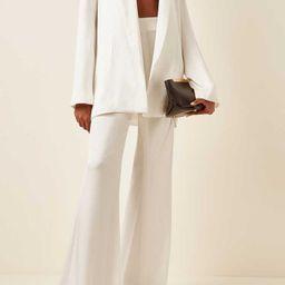 Julianne Oversized Satin Blazer | Moda Operandi (Global)