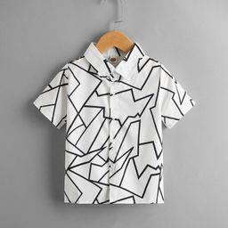 Toddler Boys Geo Print Shirt | SHEIN