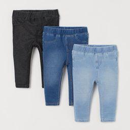 3-pack Jeggings | H&M (US)