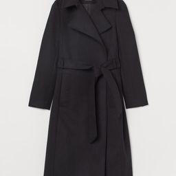 Tie Belt Coat | H&M (US)