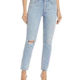 Jamie High Rise Tapered Jeans in Shakedown | Bloomingdale's (US)