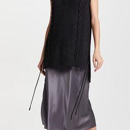 Wool V Neck Knit Vest   Shopbop