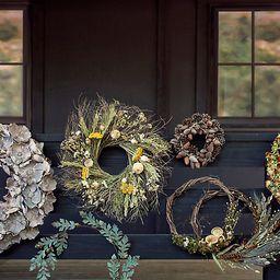 Preserved Yarrow + Poppy Wreath   Terrain