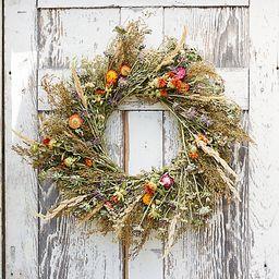 Preserved Garden Jewels Wreath   Terrain
