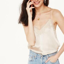 Racer Charmeuse Cami Oat   CAMI NYC
