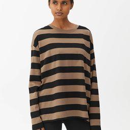 Oversized Pima Cotton T-shirt                         £25 | ARKET