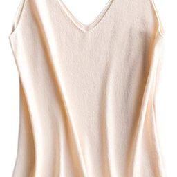 Betusline Women's Cashmere Blend Camisole Knit Cami Tank Top   Amazon (US)