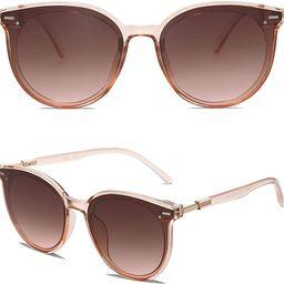 SOJOS Classic Round Sunglasses for Women Men Retro Vintage Large Plastic Frame BLOSSOM SJ2067   Amazon (US)