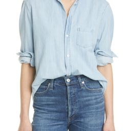 Cotton Chambray Button-Up Shirt   Nordstrom   Nordstrom