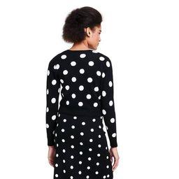 Women's Polka Dot Cardigan - Victor Glemaud x Target Black | Target