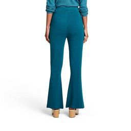 Women's High-Rise Flare Sweater Pants - Victor Glemaud x Target Teal Blue | Target