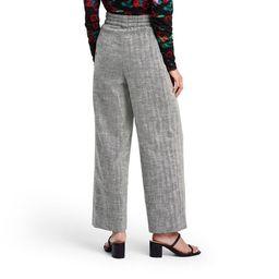 Women's Chevron High-Rise Wide Leg Tweed Pants - Rachel Comey x Target Black   Target