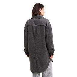 Women's Checkered Oversized Shirt Jacket - Rachel Comey x Target Dark Gray   Target