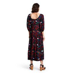 Women's Floral Print Volume 3/4 Sleeve Dress - Rachel Comey x Target Red   Target