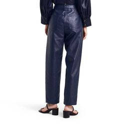 Women's High-Rise Taper Leg Faux Leather Utility Pants - Rachel Comey x Target Navy   Target