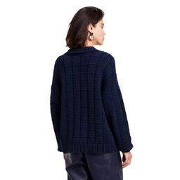 Women's V-Neck Pullover Sweater - Rachel Comey x Target Navy   Target