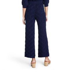 Women's High-Rise Wide Leg Knit Sweater Palazzo Pants - Rachel Comey x Target Navy   Target