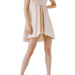Mixed Media Ruffle Dress | Nordstrom