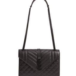 Medium Monogram Quilted Leather Shoulder Bag | Nordstrom | Nordstrom
