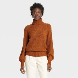 Women's Turtleneck Pullover Sweater - Who What Wear™ | Target