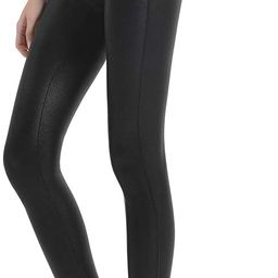 Retro Gong Womens Faux Leather Leggings Stretch High Waisted Pleather Pants | Amazon (US)