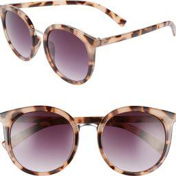 53mm Round Sunglasses | Nordstrom