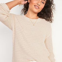 Cozy Marled Textured Tunic Sweater for Women | Old Navy (US)