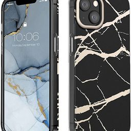 MATEPROX Compatible with iPhone 13 case Marble Design Slim Thin Stylish Geometric Cover for iPhon... | Amazon (US)