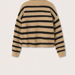 Knitted cropped sweater | MANGO (UK)