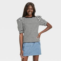 Women's Puff Elbow Sleeve T-Shirt - Who What Wear™ | Target