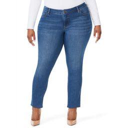 Sofia Jeans by Sofia Vergara Plus Size Skinny Mid-Rise Stretch Ankle Jeans | Walmart (US)