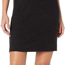 Amazon Brand - Daily Ritual Women's Cozy Knit Muscle Sleeve Dress | Amazon (US)