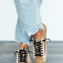 Paloma Gold Star Sneakers | Apricot Lane Boutique