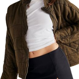 Dolman Sleeve Quilted Jacket | Nordstrom