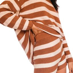 Malibu Stripe Sweater & Shorts Set | Nordstrom