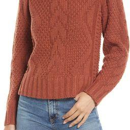 Women's Ridgecrest Cable Merino Wool Blend Sweater   Nordstrom