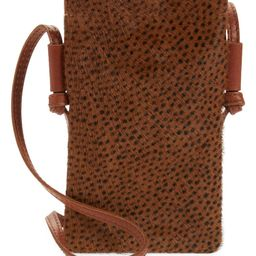 The Smartphone Genuine Calf Hair Crossbody Bag | Nordstrom