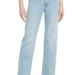 Slim Wide Leg Full Length Jeans   Nordstrom