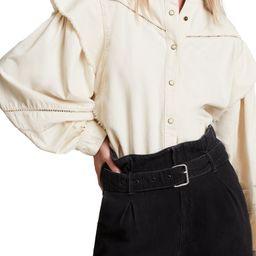 Elena Denim Shirt   Nordstrom